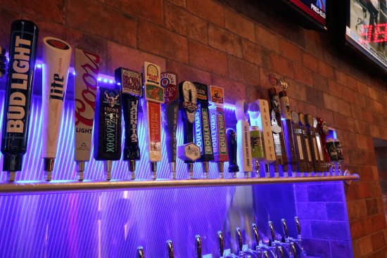 McPherson, KS: 25 beers on tap | 15 locally brewed in Kansas.
