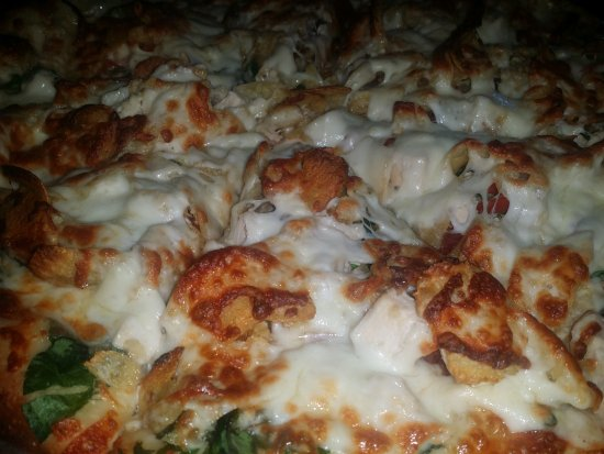 Watertown, TN: And the chicken bacon potato chip pizza