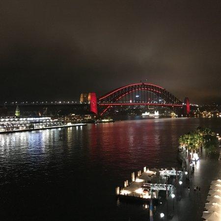 Pullman Quay Grand Sydney Harbour: Blick vom Balkon.