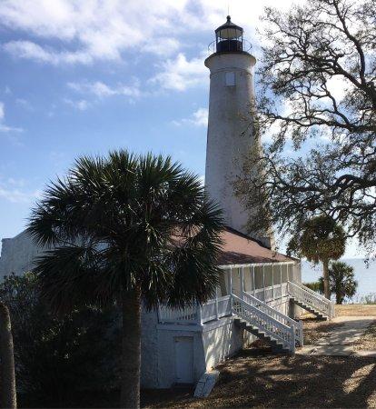 St. Marks National Wildlife Refuge: St. Marks Lighthouse and keepers quarters
