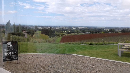 Waimate, Nya Zeeland: The lookout over Waitmate