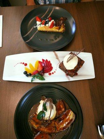 Rangiora, Nuova Zelanda: Dessert at Lemongrass