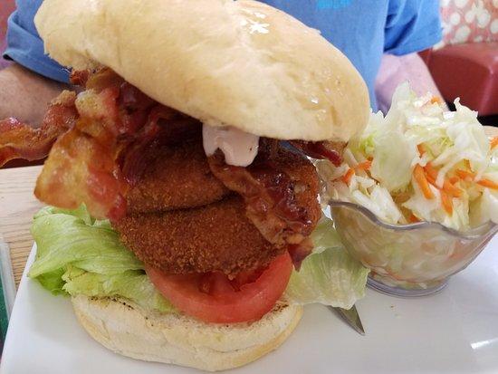 North Palm Beach, FL: Got enough stuffed in that sandwich?