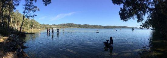 Seal Rocks, Αυστραλία: Lake near Topi Gums Beach Retreat