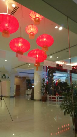 Pullman Kuching: Lobby decoration for CNY