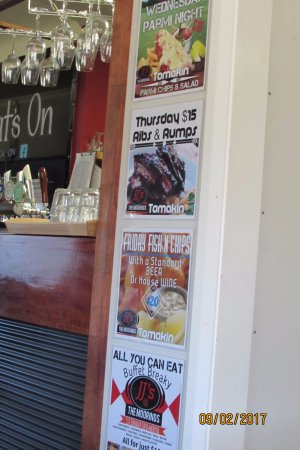 Tomakin, Avustralya: weekly specials