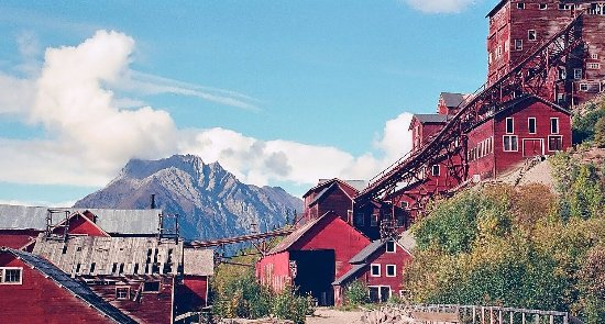 Wrangell-St Elias National Park and Preserve, AK: McCarthy copper mine