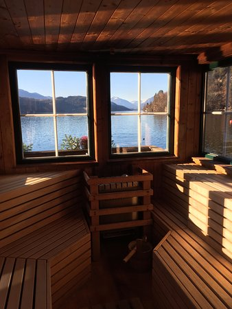 Döbriach, Austria: Die schönste Sauna auf der Welt