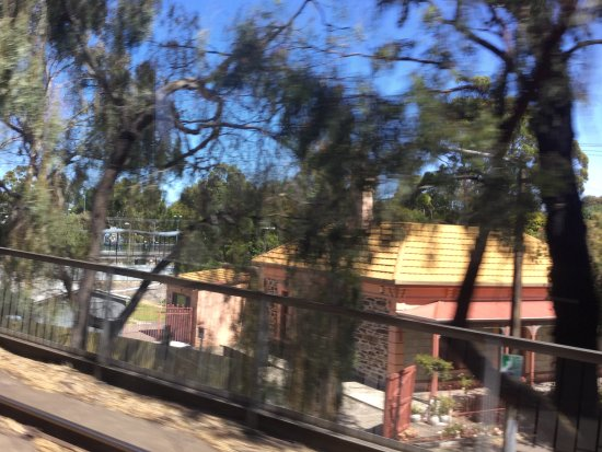 Glenelg, ออสเตรเลีย: On the way to the beach, on the tram