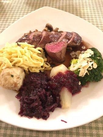 Hotel Fuchsen: Sehr gute Küche :-)