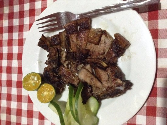 Ysabelle Mansion: grilled pork