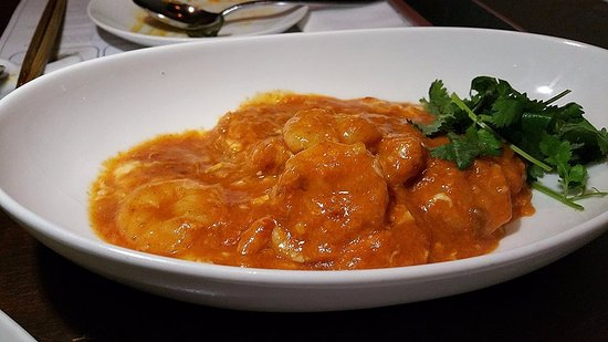 Hainan Jeefan Restaurant 2: Very delicious prawns in chilli crab sauce.