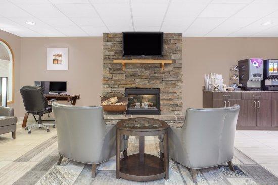 Athabasca, Canada: Lobby