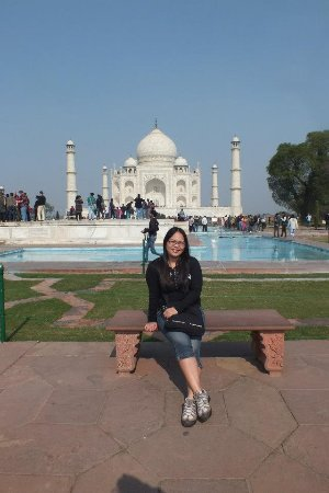 Bahadurgarh, Индия: our guest in taj mahal