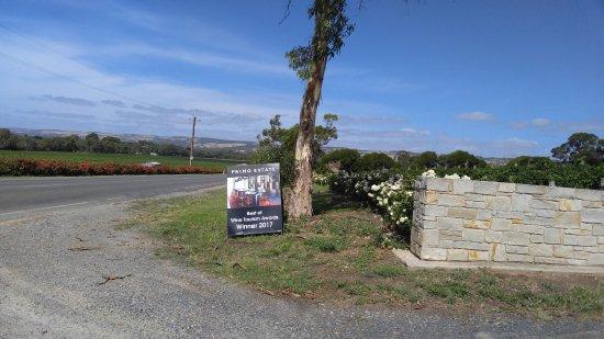 McLaren Vale, Australia: entrance from highway