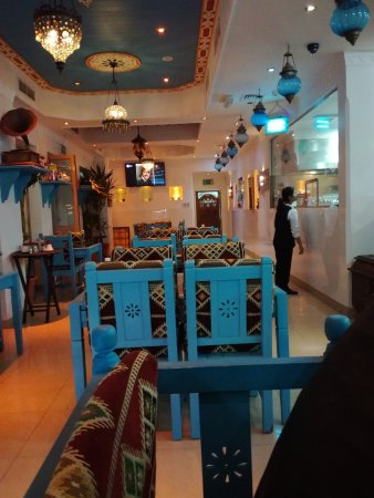 Al Muharraq, Bahrain: Interior looks authentic