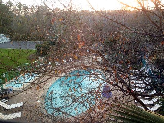 Moss Point, MS: Room overlooks pool area