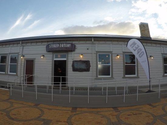 Te Kuiti, Nueva Zelanda: entrance