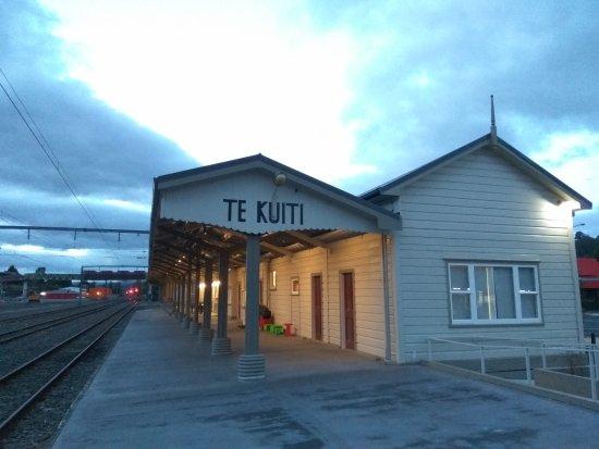 Te Kuiti, Nueva Zelanda: former train station