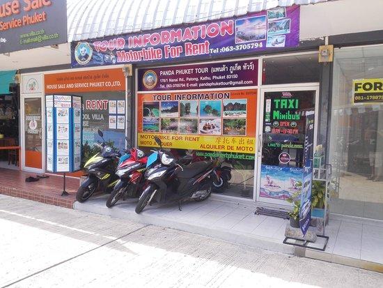 Panda Motorbike for Rent