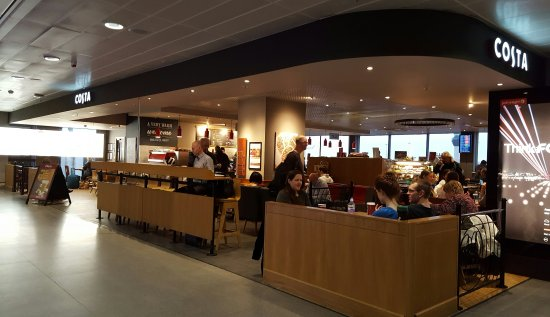 Coffee And Pastries Manchester Airport Terminal 3 Airside