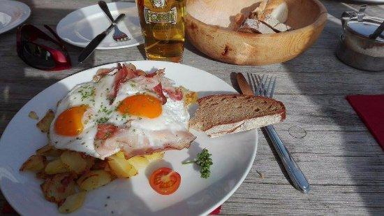 Rasun Anterselva (Rasen-Antholz), Italien: Uova e patate