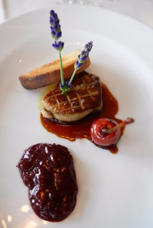 La Terrasse : Pan fried duck liver
