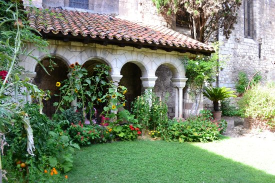 Cloitre de la Collegiale Saint Salvy: il fait bon sous les arcades