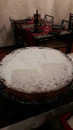 Mazzano Romano, Italia: La Valtellina...torta di grano saraceno...