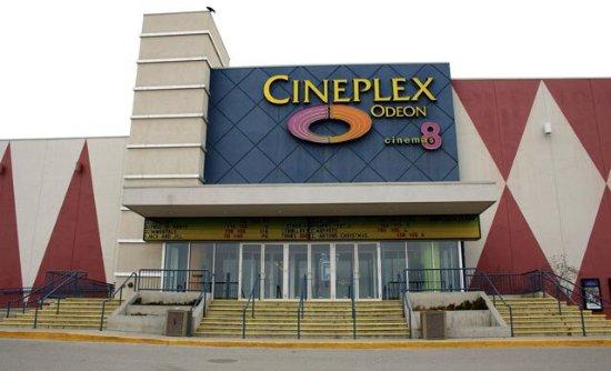 Kamloops, Canada: Ciniplex Odeon Aberdeen Mall Cinema