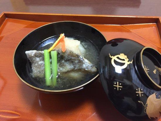Nishitokyo, Japan: お椀(お魚)