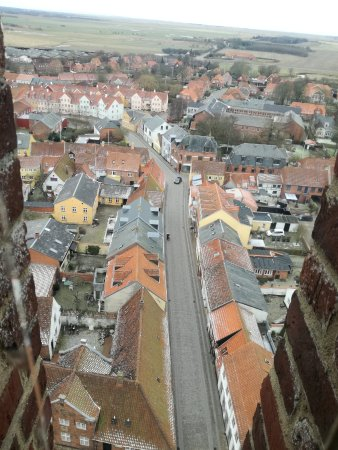 Ribe, Δανία: Cathedral tower view
