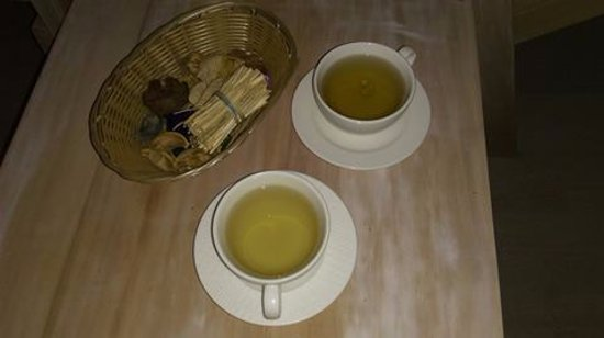 Miliou, Cyprus: Herbal Tea