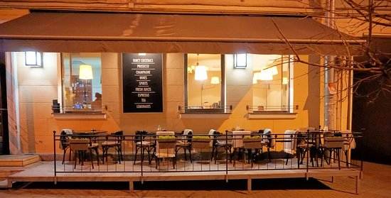 News CAFE: Our cozy terrace