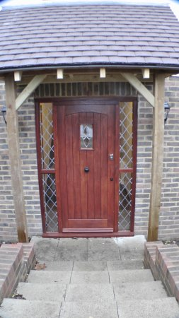 Birchington, UK: Bay Lodge Entrance