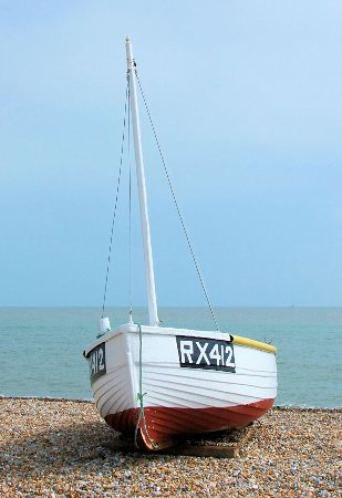 Dungeness, UK: Ready to Sail