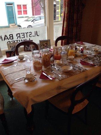 Killyleagh, UK: Best breakfast in the world.