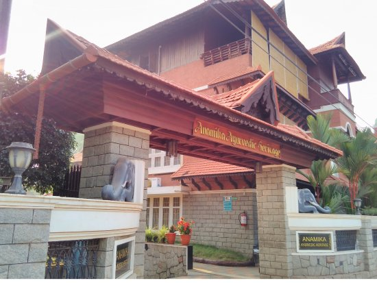 Anamika Ayurvedic Heritage: Hotel front