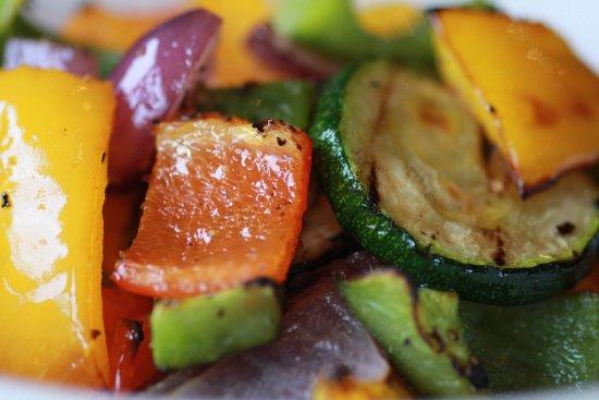 Bromborough, UK: Verdure al forno