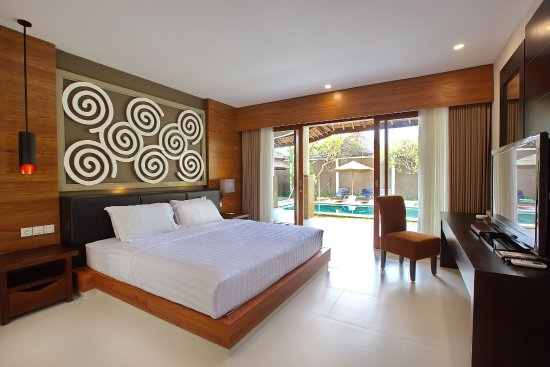 Mutiara Bali Boutique Resort & Villas: Bedroom of 3 Bedroom suite villa
