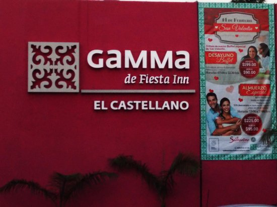 Gamma de Fiesta Inn Merida El Castellano: Yes its ok