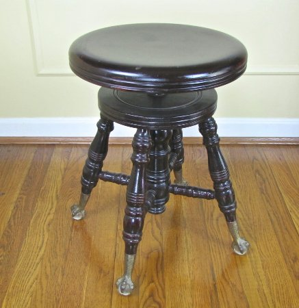 Pleasing Antique Piano Stool Picture Of Mizeners Antiques More Machost Co Dining Chair Design Ideas Machostcouk
