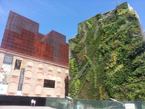 Jard n vertical de la caixa forum de madrid picture of for Jardin vertical madrid