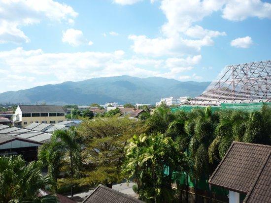 Gord Chiangmai: Widok - na góry