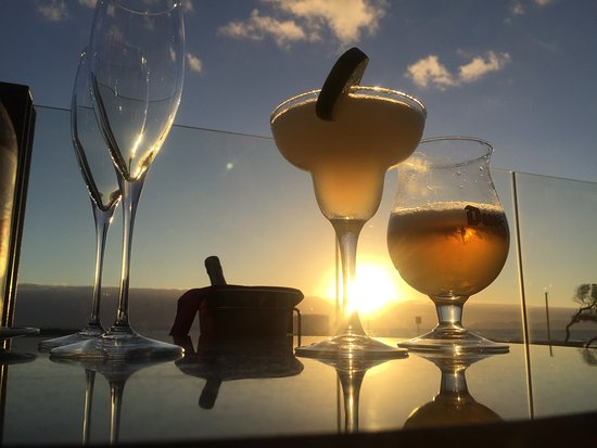 Strand, South Africa: Best Margarita, beautiful view