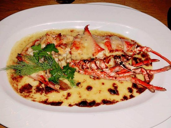 Gamba Seafood Restaurant: Half scottish lobster thermidor