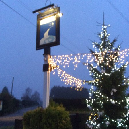 Wateringbury, UK: The North Pole in winter