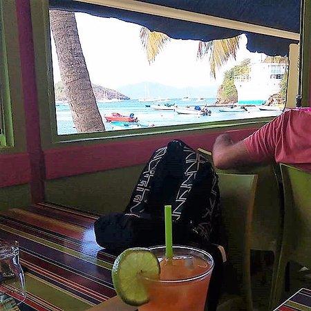 Terre-de-Haut, Guadalupe: Vue sur la baie