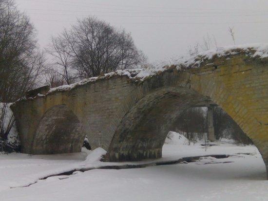 Leningrad Oblast, Rusia: Мост Ломоносова