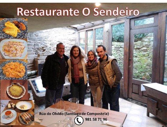 Restaurante o sendeiro en santiago de compostela con for Cocinas santiago de compostela